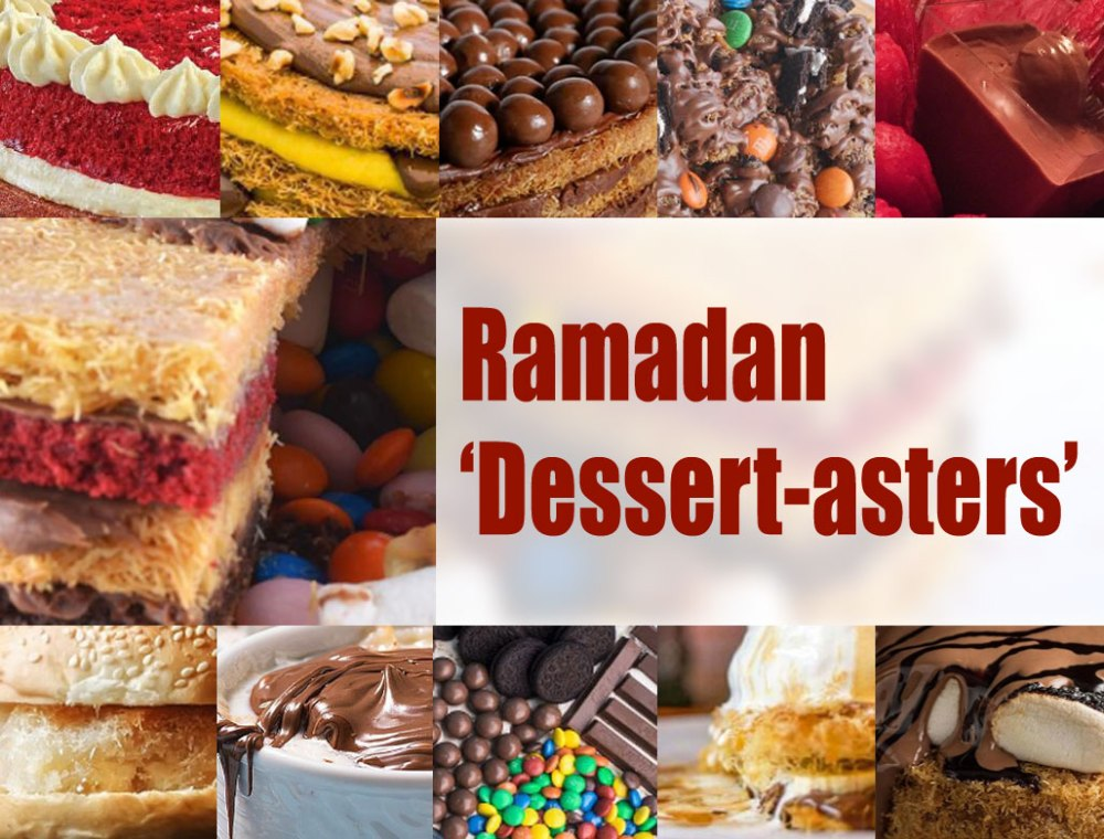 Ramadan-Dessertasters